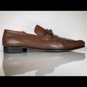 Salvatore Ferragamo Studio Moc-Toe Bit Loafers